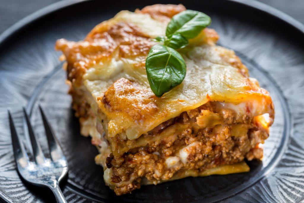 Lasagna with sausage